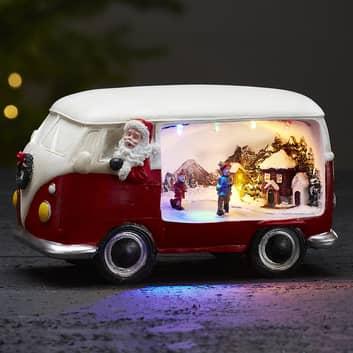 Dekolampe Merryville med LED - julebus