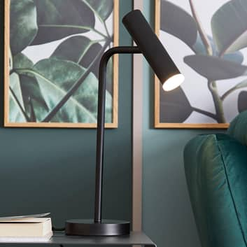 Schöner Wohnen Stina lampada LED da tavolo, nero
