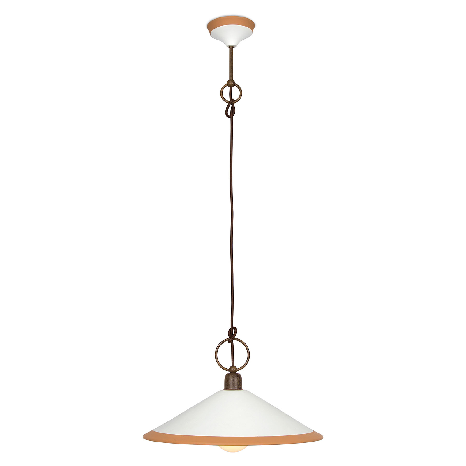 Suspension 4560/S41, brune, blanche, ocre