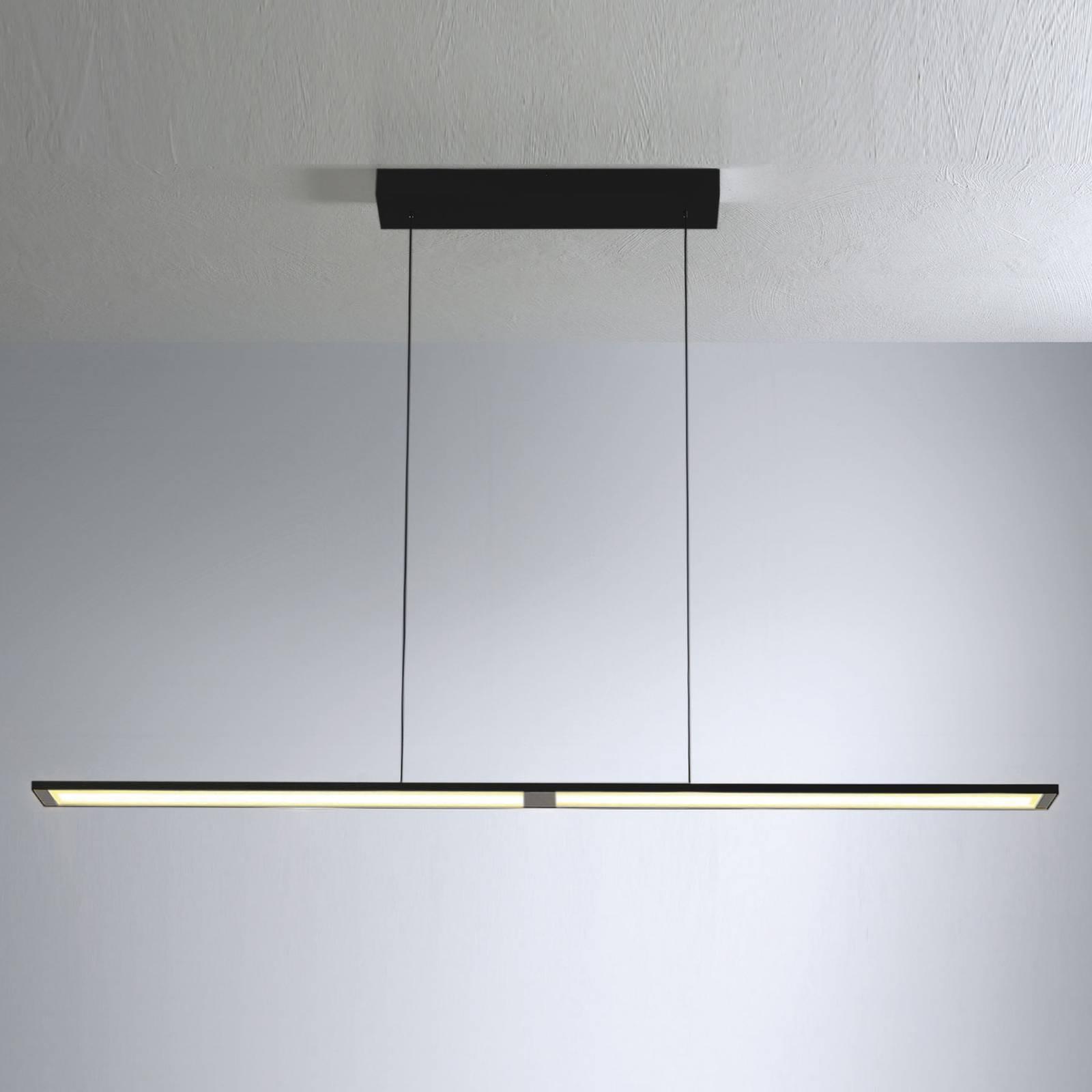 Bopp Fly suspension LED 140cm allongée noire