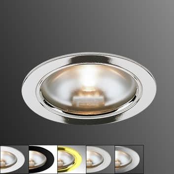 KB 12 indbyggelig halogenlampe i 5 farver