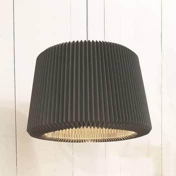 LE KLINT Snowdrop M - papier-hanglamp, zwart