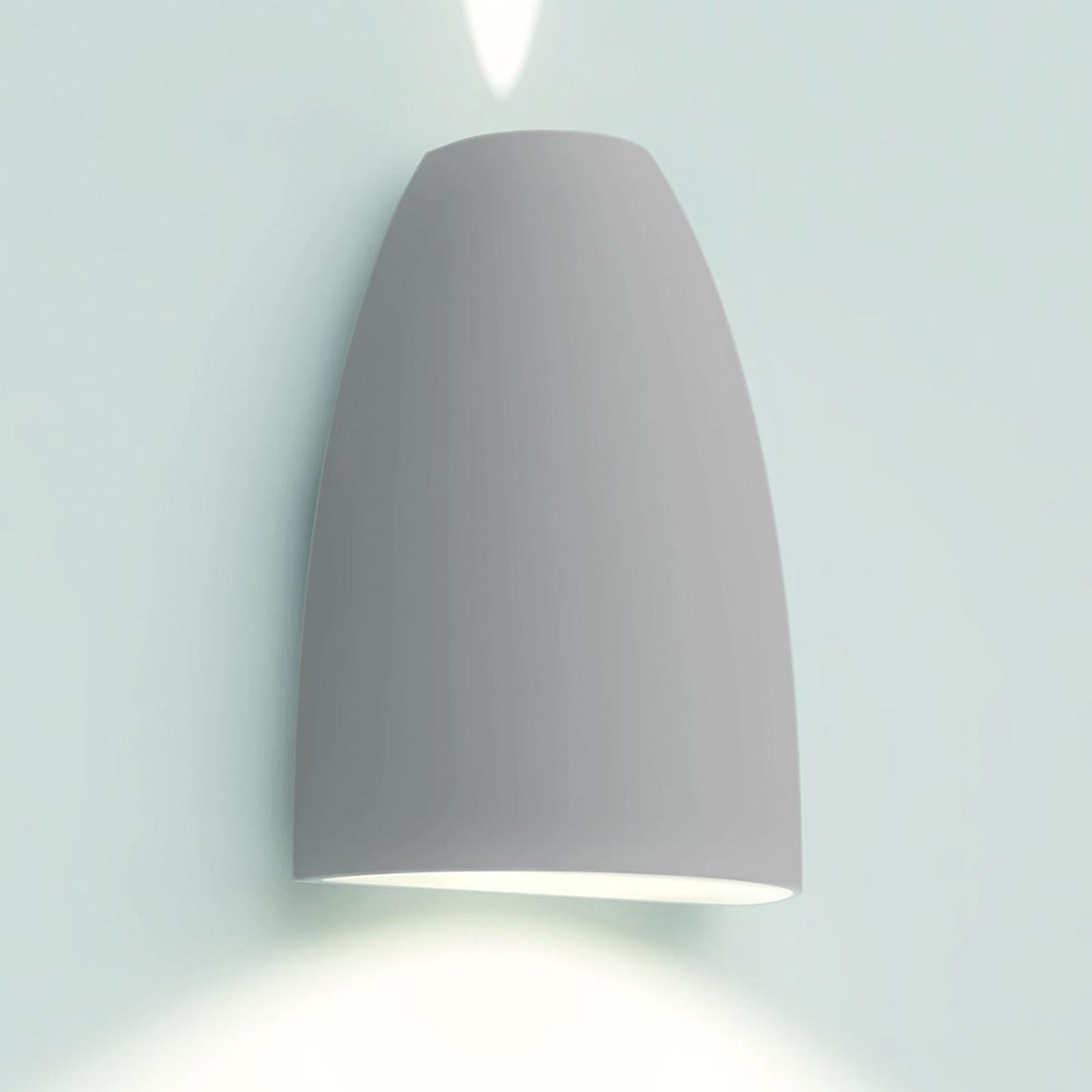 Artemide Molla utendørs LED-vegglampe, hvit