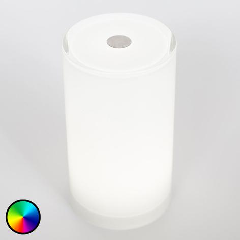Lámpara de mesa sin cables Tub control app, RGBW