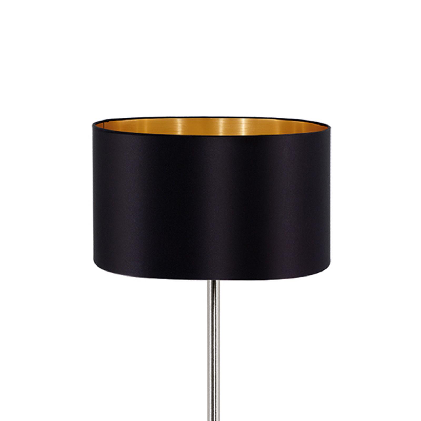 Ušlechtilá stojací lampa Maserlo, textil