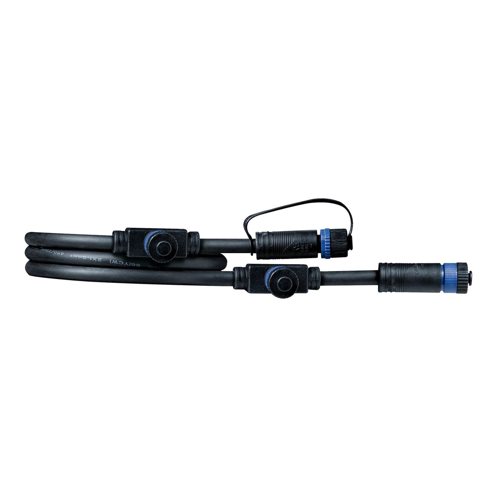 Paulmann Plug & Shine 93994 câble 1m, 1 in/3 out