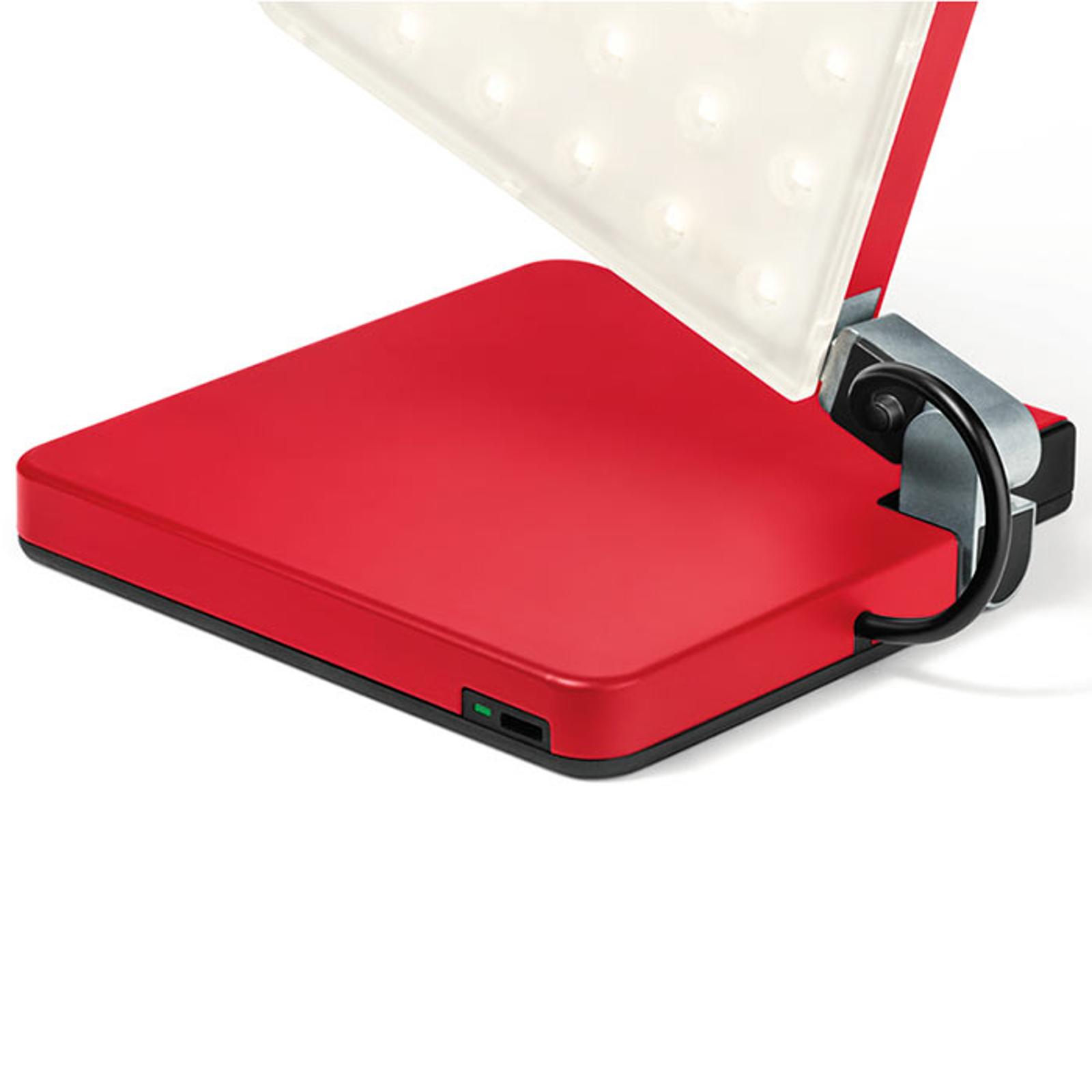 Nimbus Roxxane Fly LED tafellamp, rood
