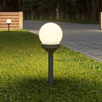 Lindby Haukur LED-solcellelampe jordspyd 6-er