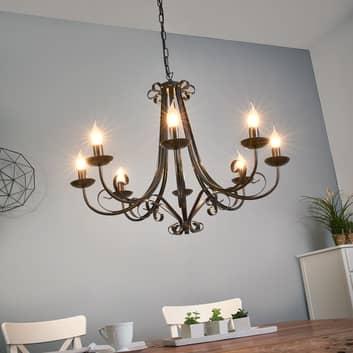 ROMA lysekrone i herregårdsstil med otte lys
