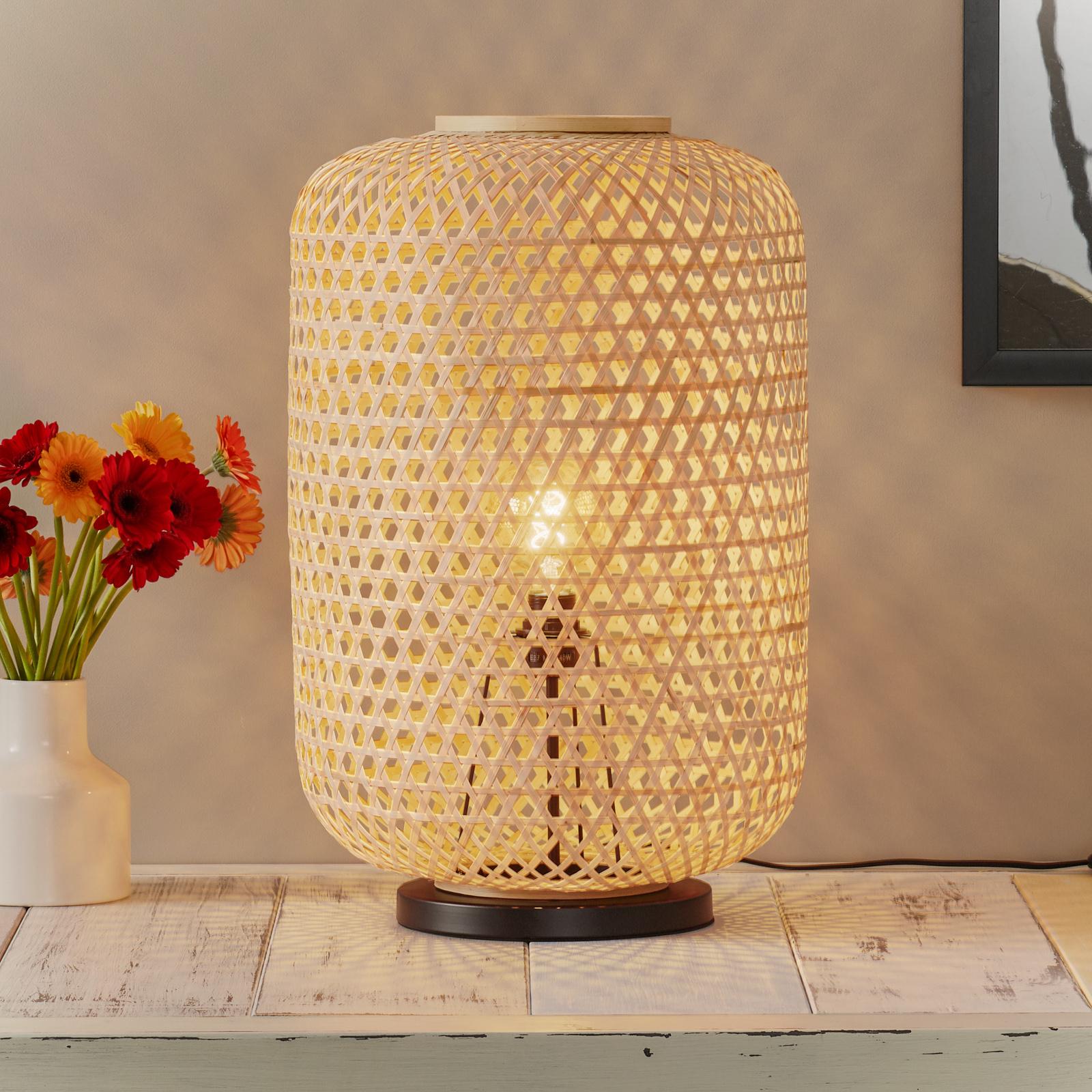 Schöner Wohnen Calla lampe de sol naturelle 63cm