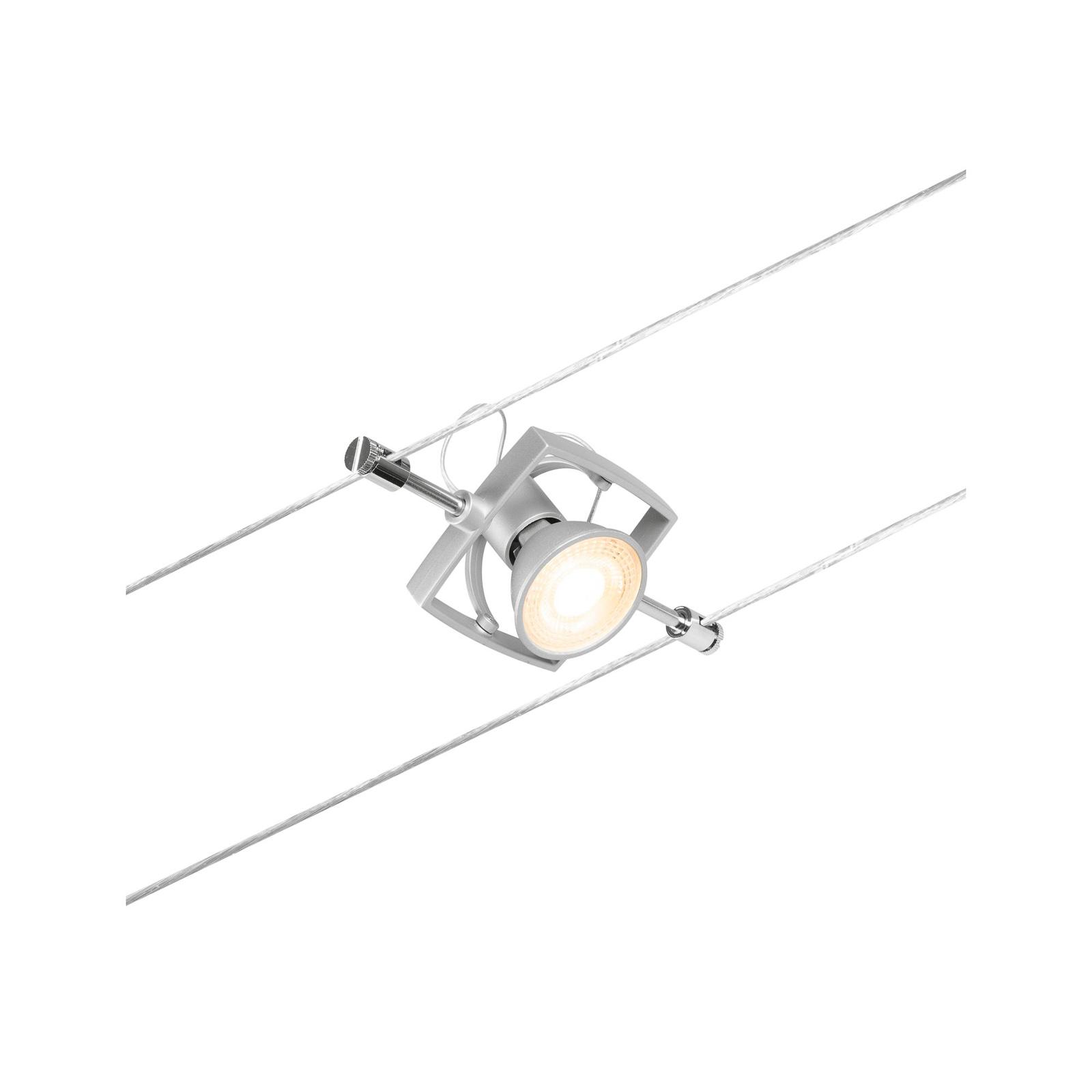 Paulmann Wire Mac II foco de luz sobre cable cromo