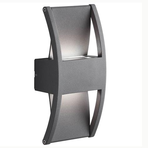 AEG Elroy utendørs LED-vegglampe av aluminium