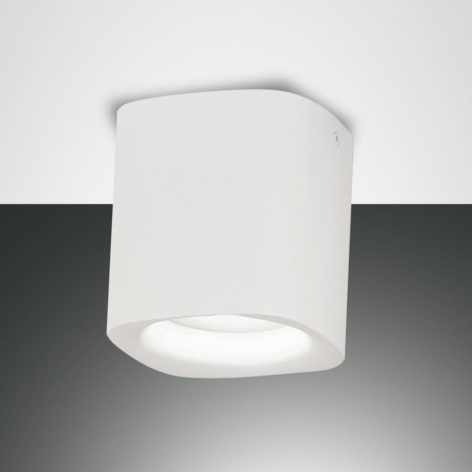 Lampa sufitowa Smooth, 1-punktowa, biała, IP44