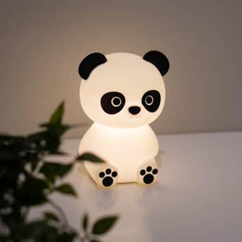 LED-nattlampe Paddy Pandy med batteri og USB