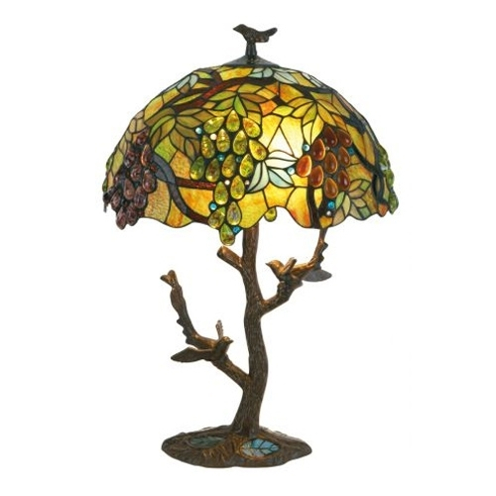 Söt lampa med hög fot PARADISO