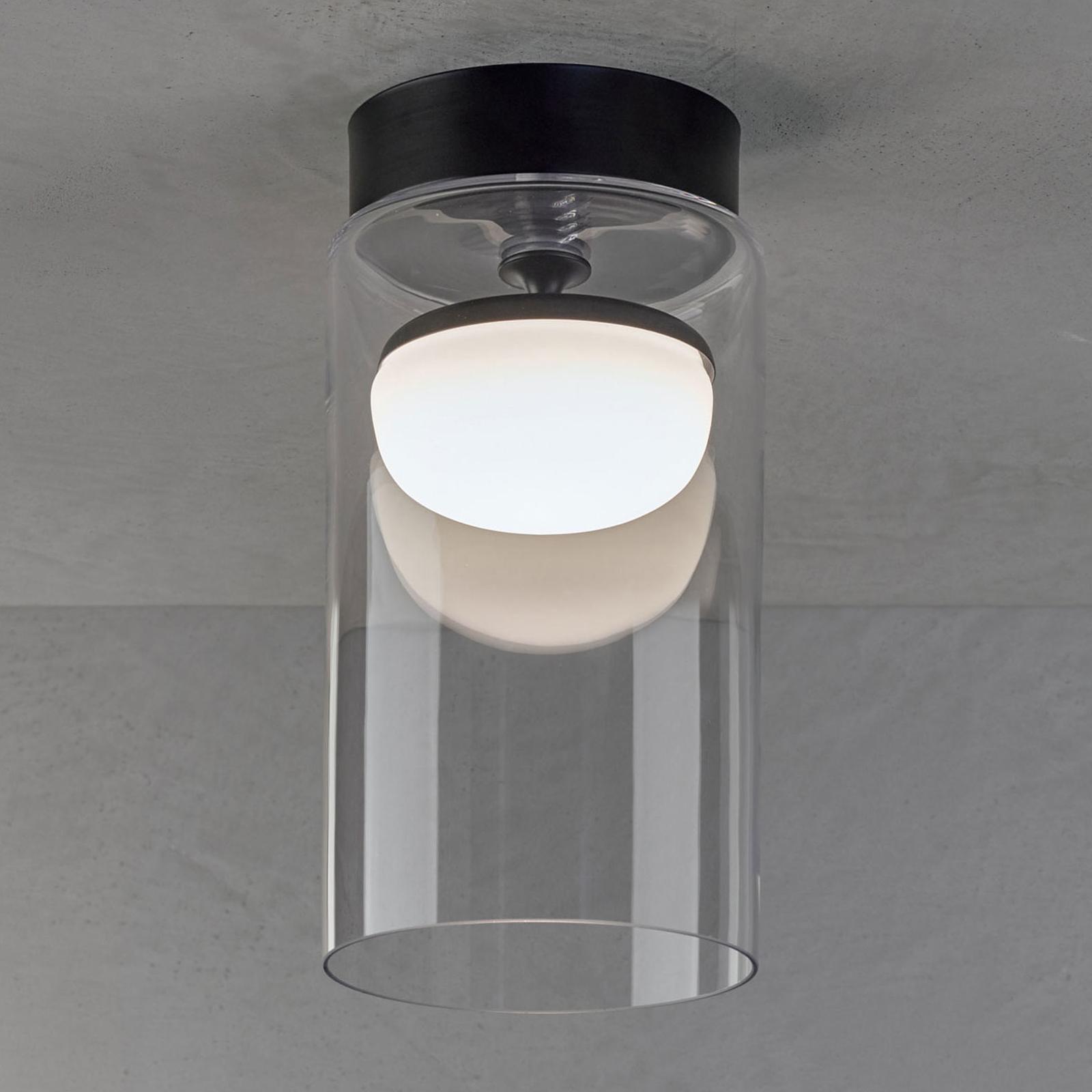 Prandina Diver LED-Deckenlampe C1 2.700K schwarz