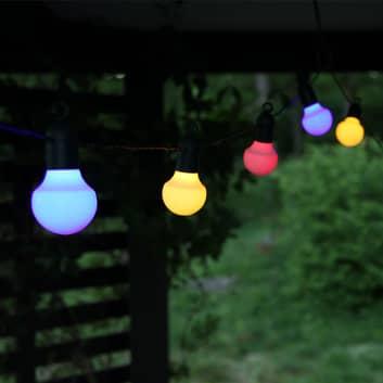 LED-lyskæde Hooky RGB