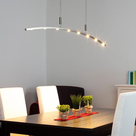 160cm – LED závěsné světlo Falo, nastavitelné