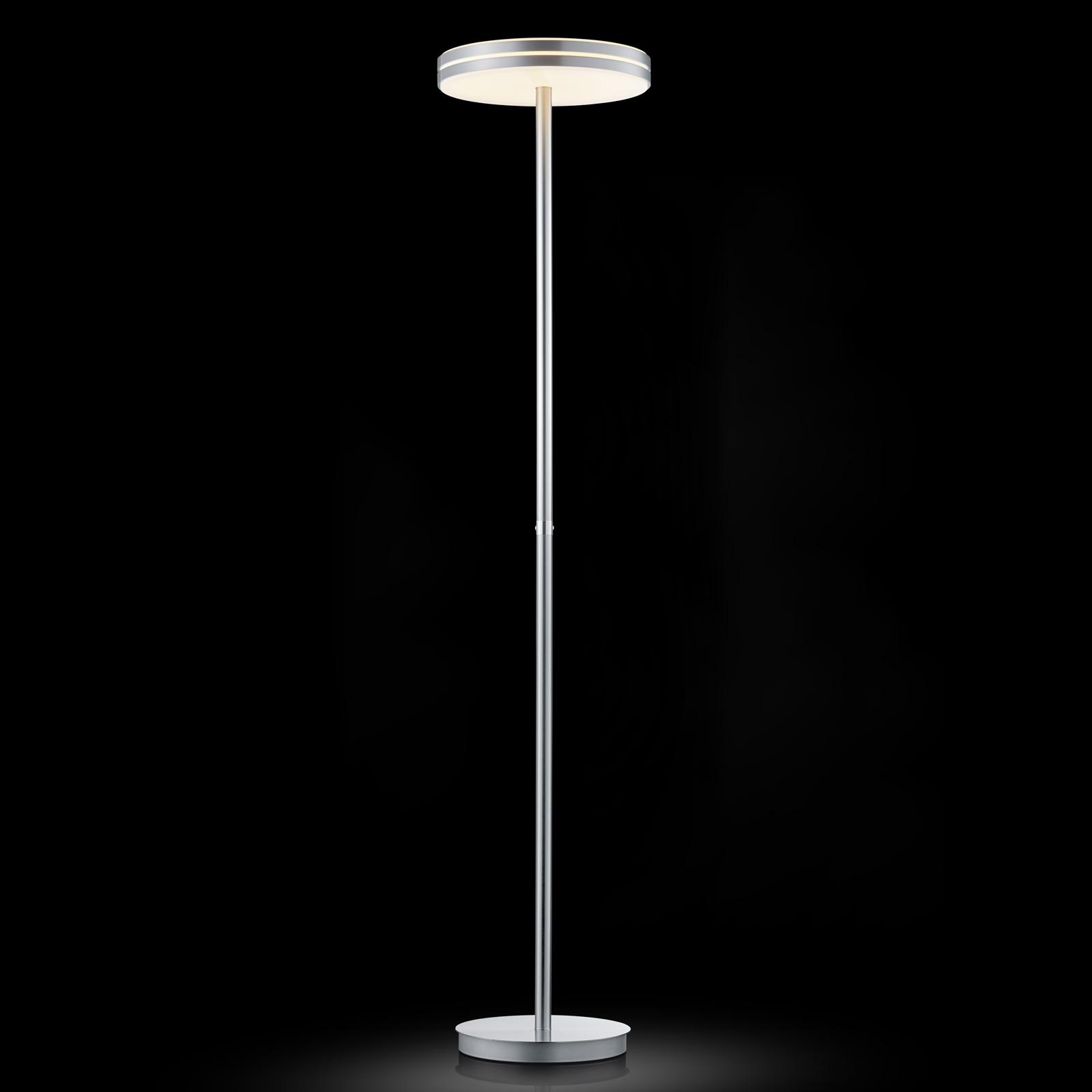 BANKAMP Gem LED vloerlamp met touchdimmer