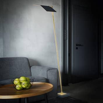 BANKAMP Book LED-gulvpære, CCT ZigBee bladguld