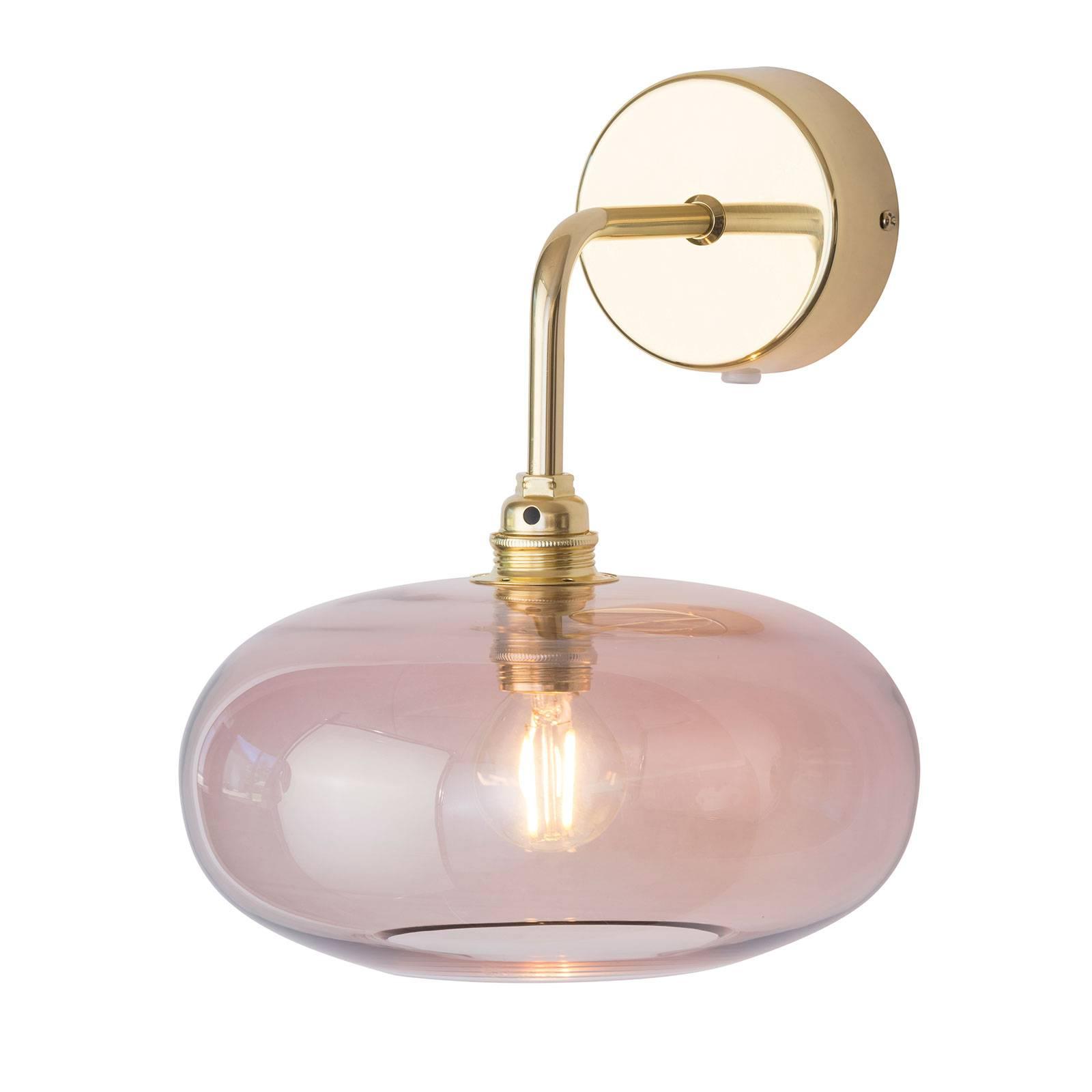 EBB & FLOW Horizon a braccio oro/rosa Ø 21 cm