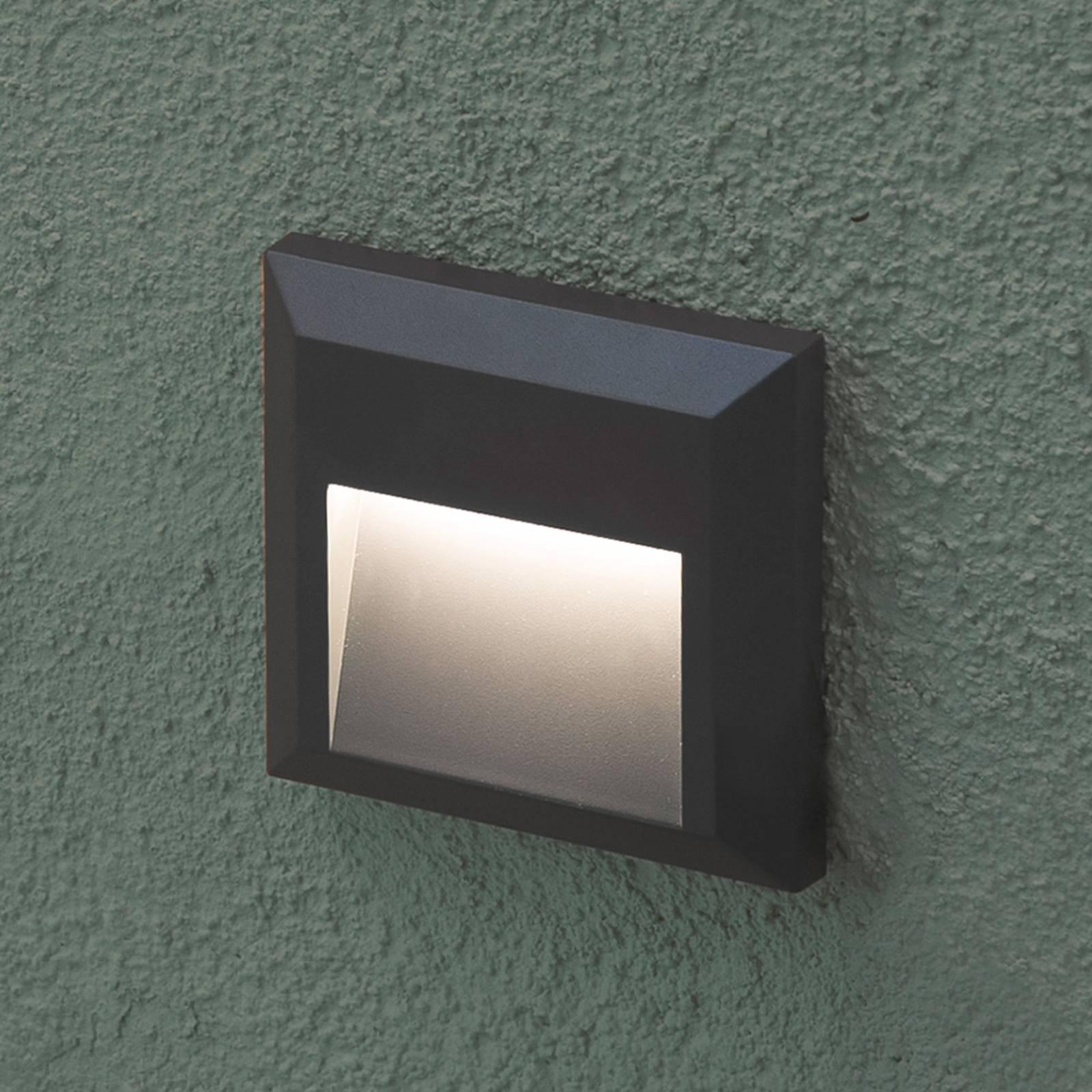 Grant - eckige LED-Außenwandleuchte
