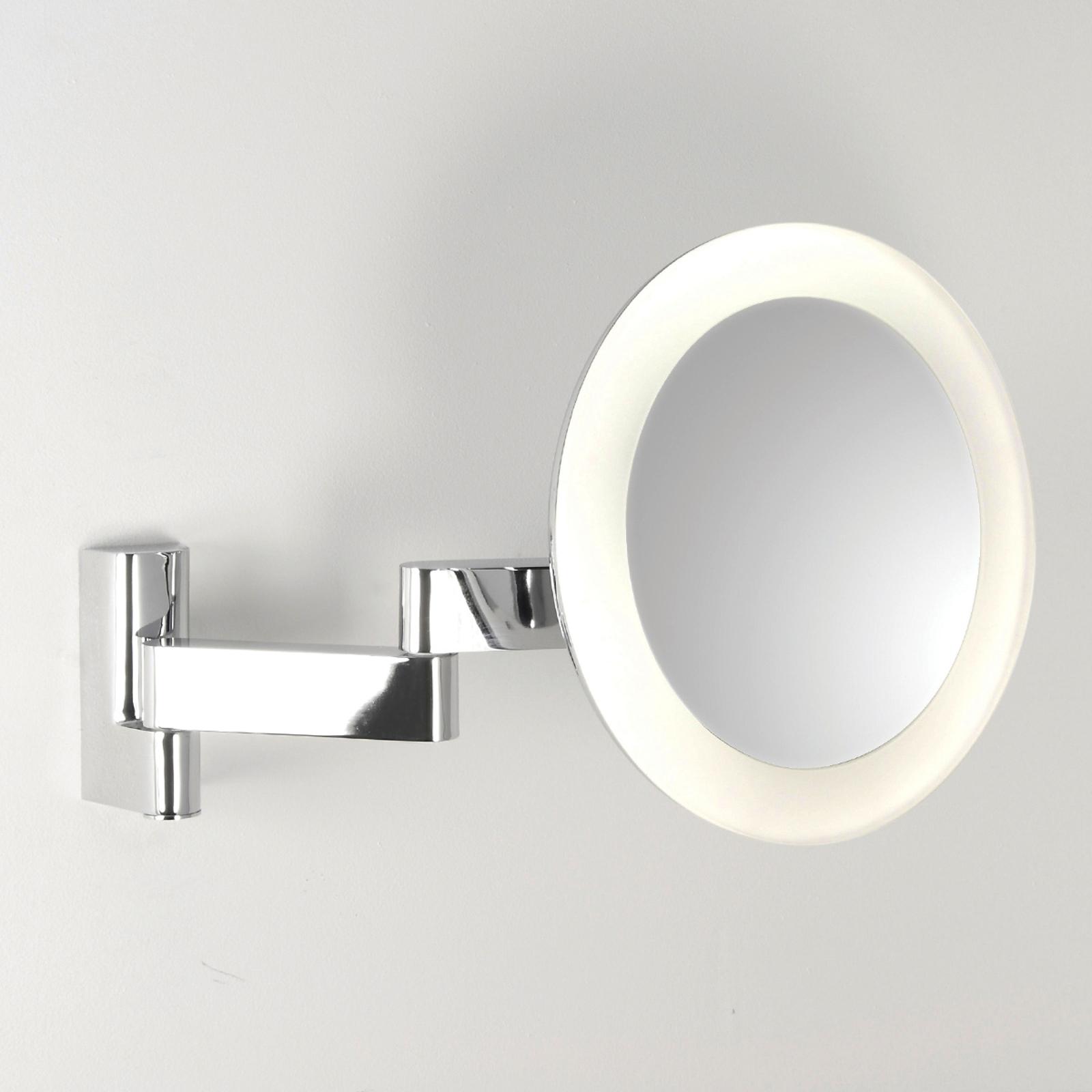 NIIMI ROUND sminkespejl med LED-belysning