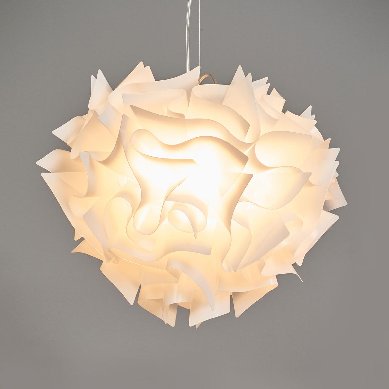 Slamp Veli - design-hanglamp, Ø 42cm, opaal