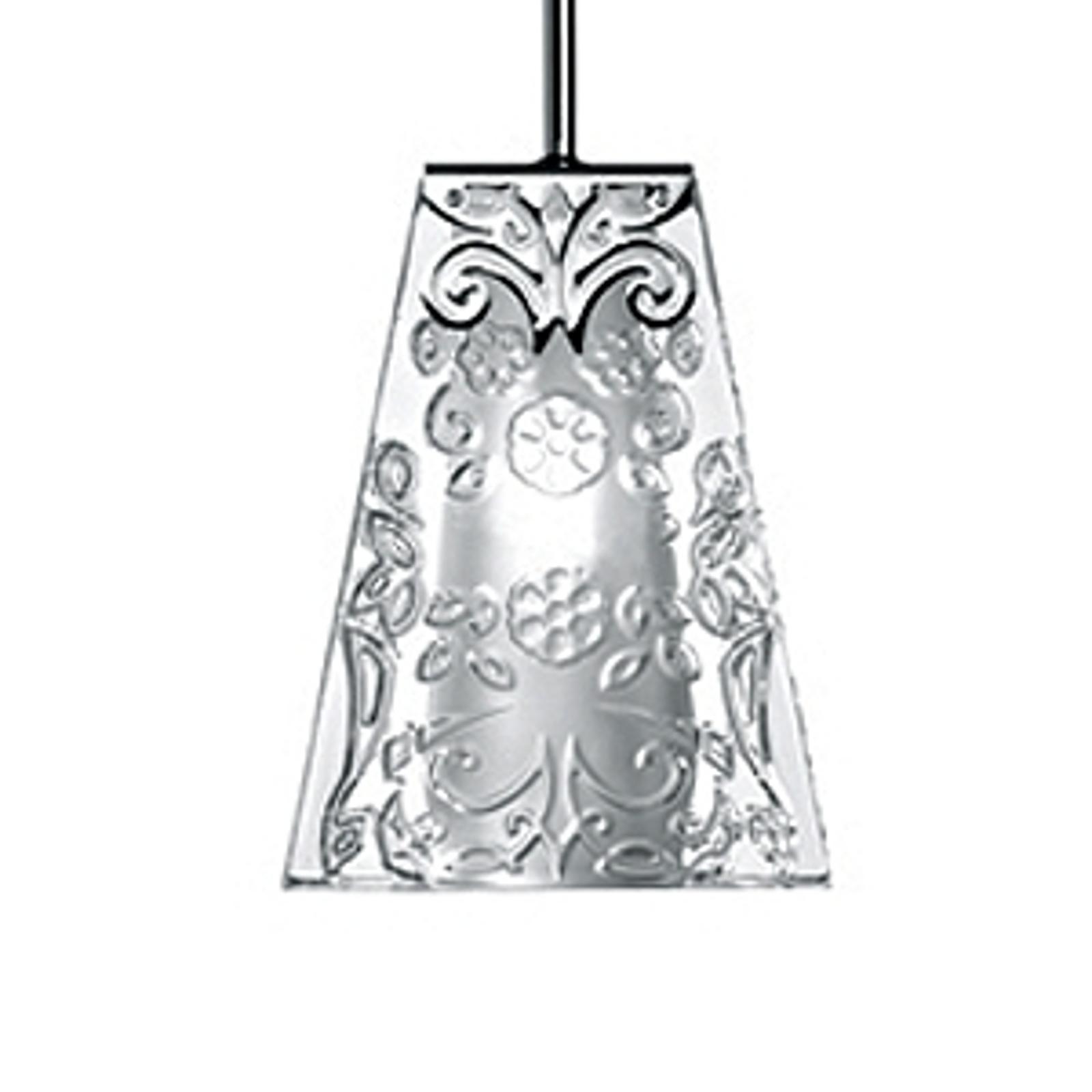 Incantevole lampada a sospensione VICKY a una luce