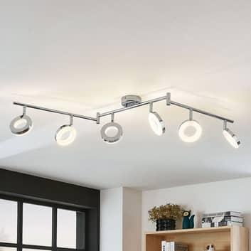 Lampa sufitowa LED Ringo 6-punktowa