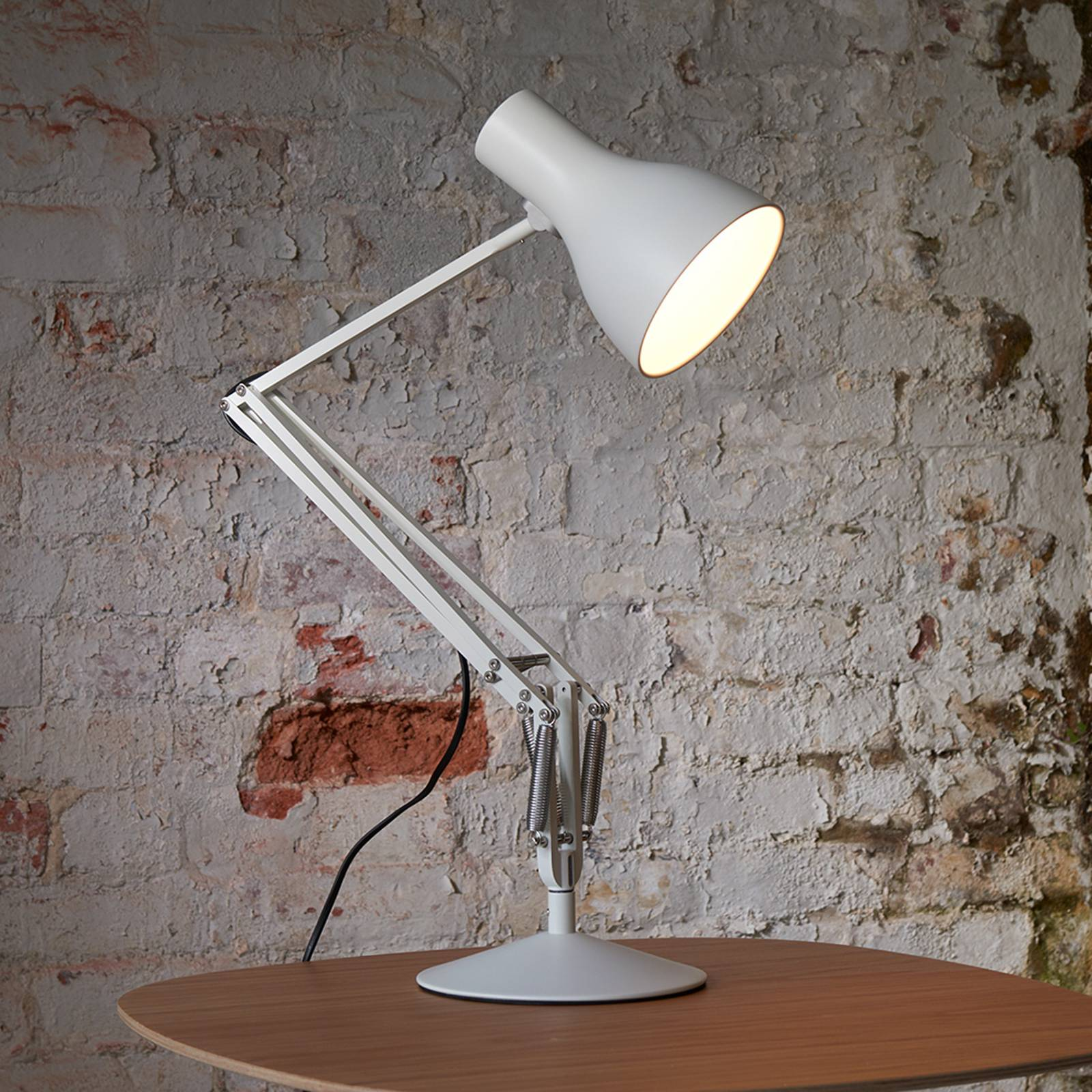 Anglepoise Type 75 lampe à poser, blanc alpin