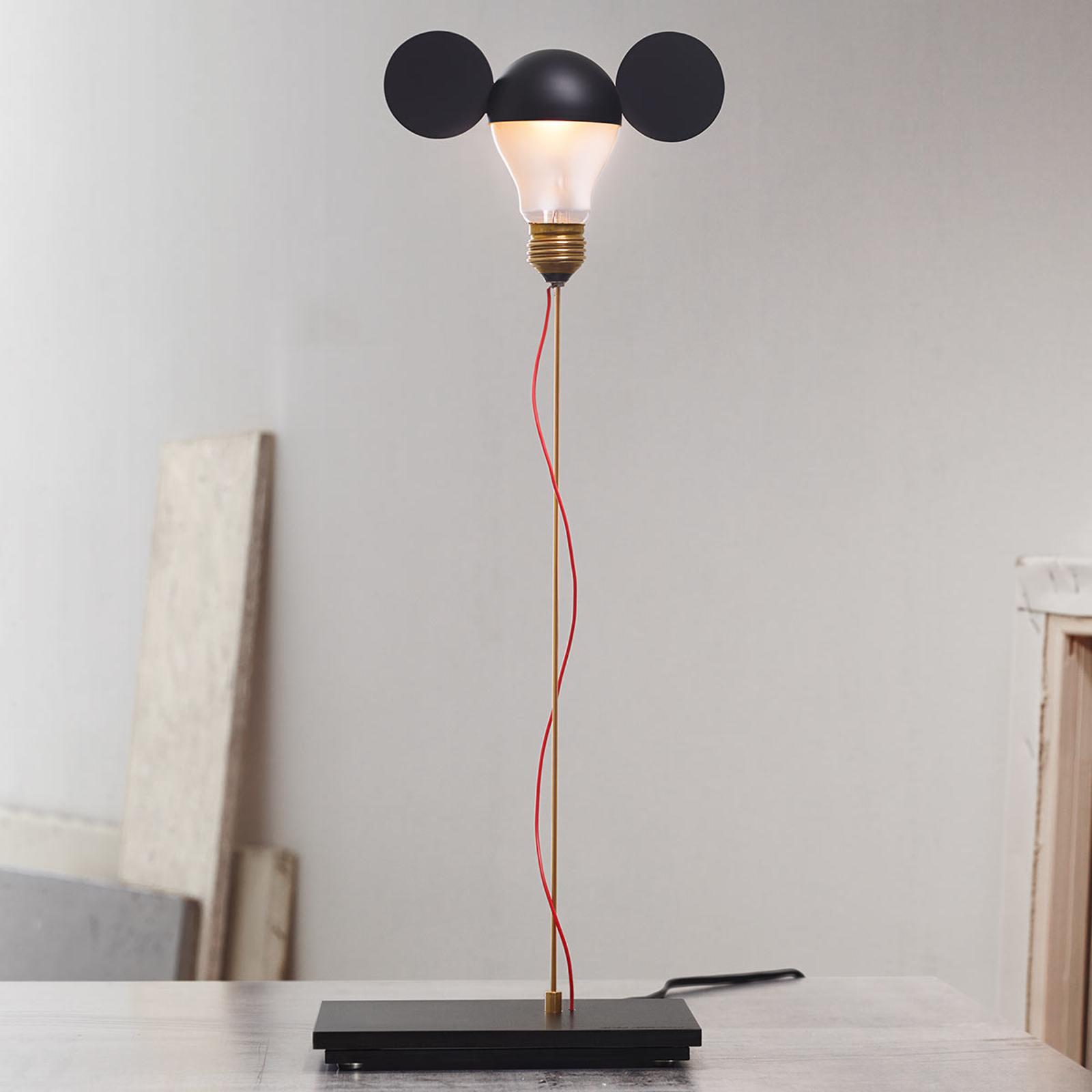 I Ricchi Poveri Toto - lampada da tavolo nera