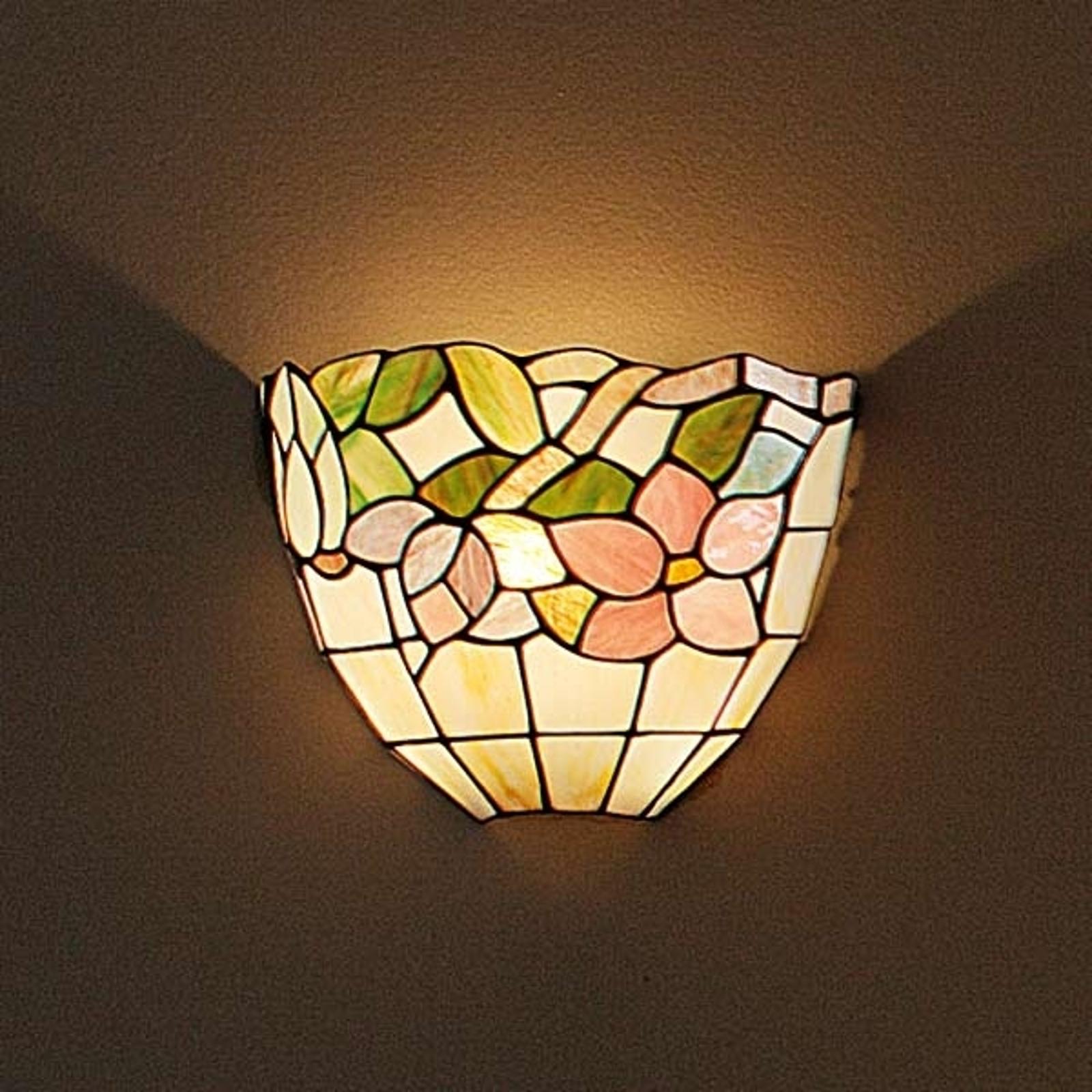 BRINDISI - væglampe i Tiffany-stil
