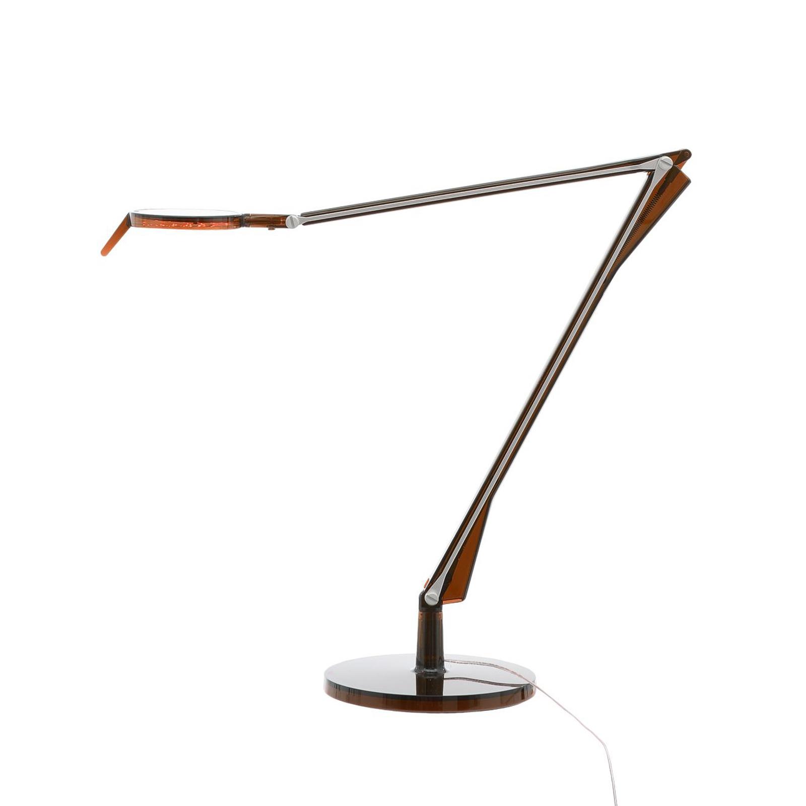 Kartell Aledin Tec LED-Tischleuchte, bernstein