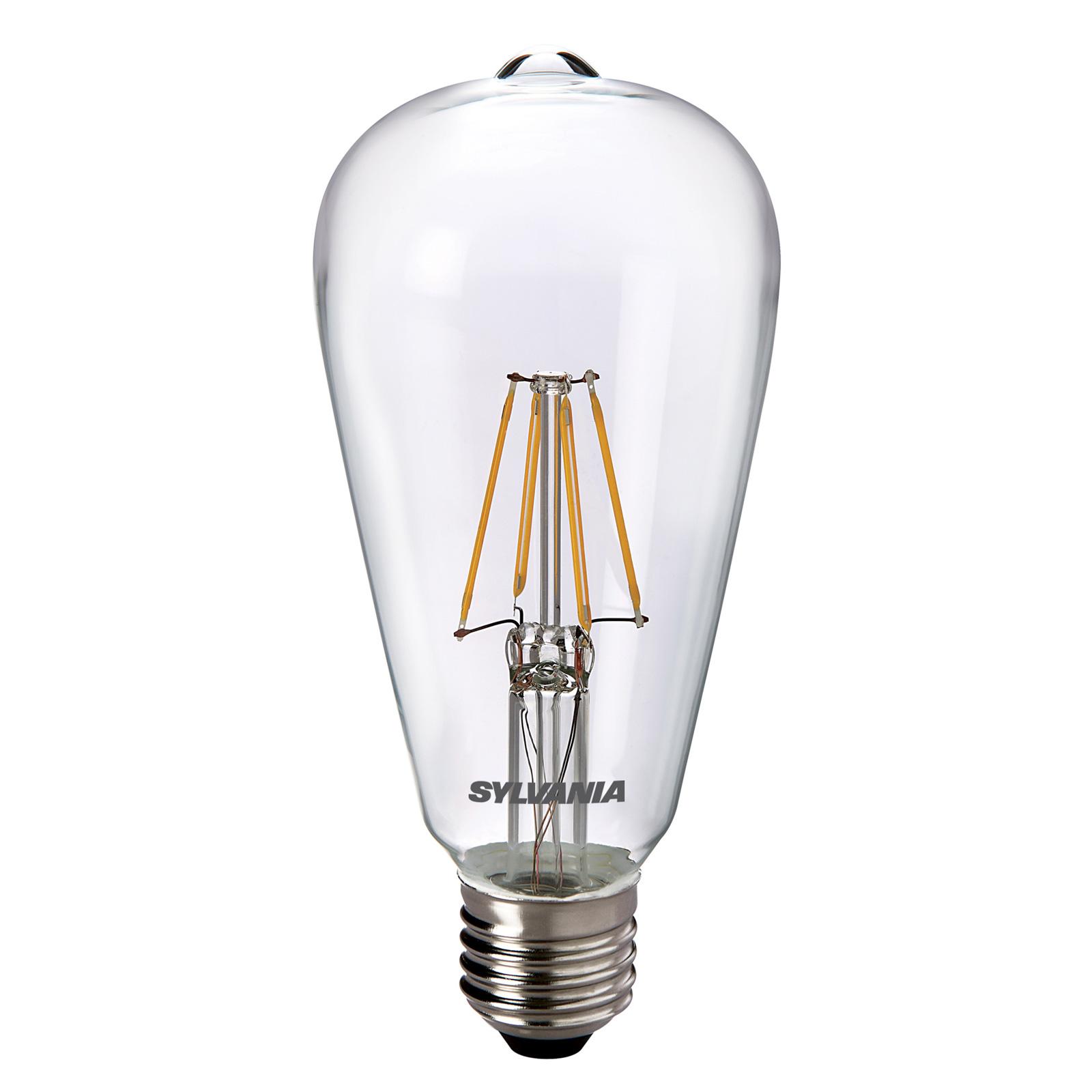 Żarówka LED E27 ToLEDo RT ST64 827 przezroczysta