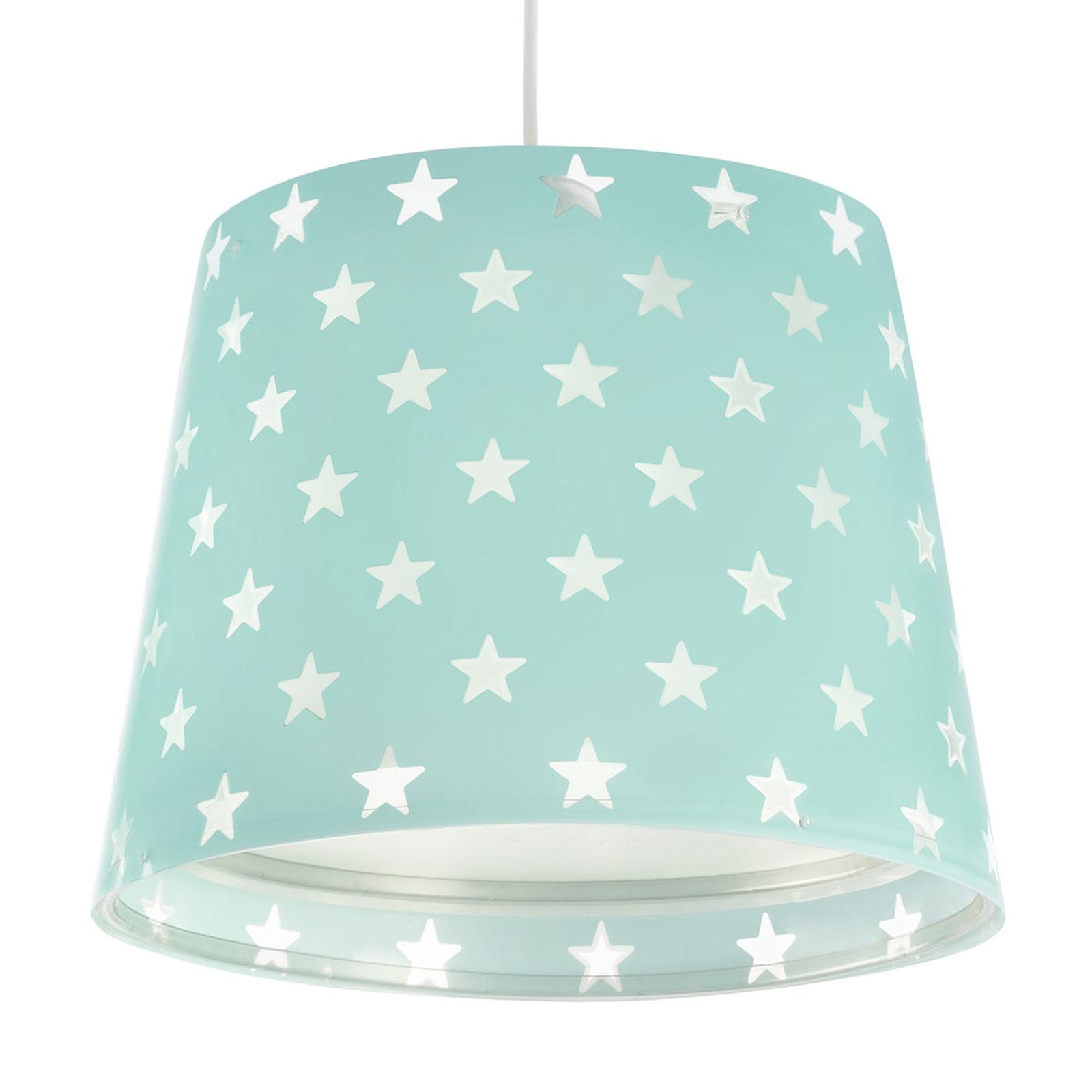 Mit Leuchteffekt - Kinderzimmer-Hängelampe Stars