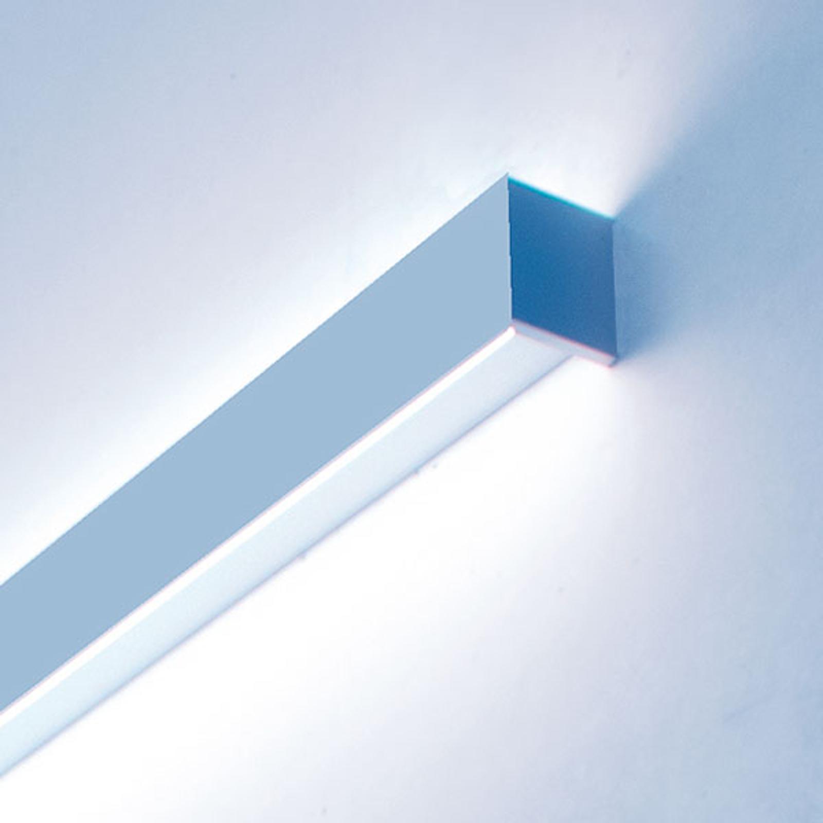 LED-Wandleuchte Matric W1 in 206 cm, 3.000 K