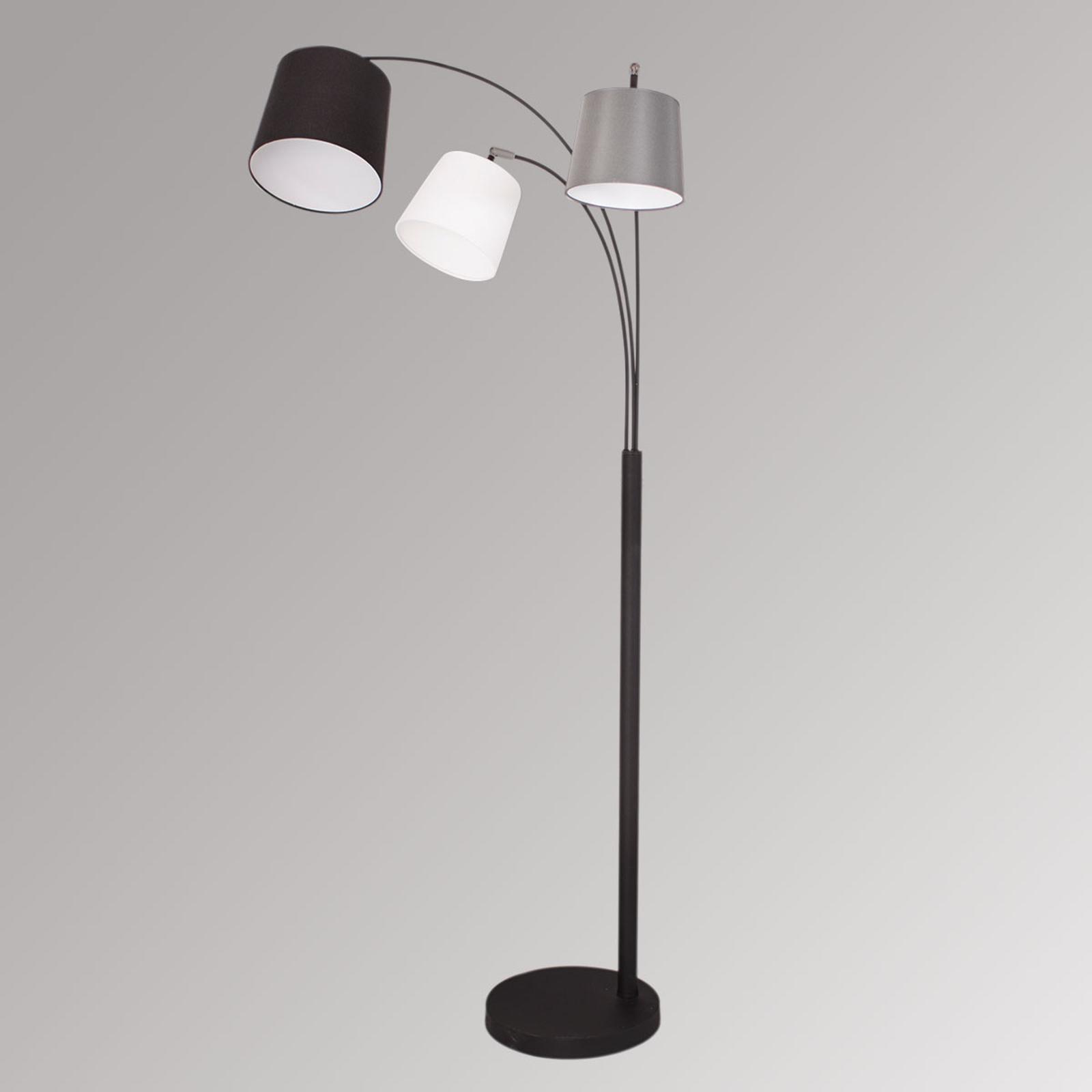 By Rydéns Foggy lampa stojąca, trzy klosze