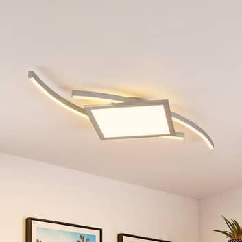 Lucande Tiaro plafoniera LED, angolare, 42,5 cm