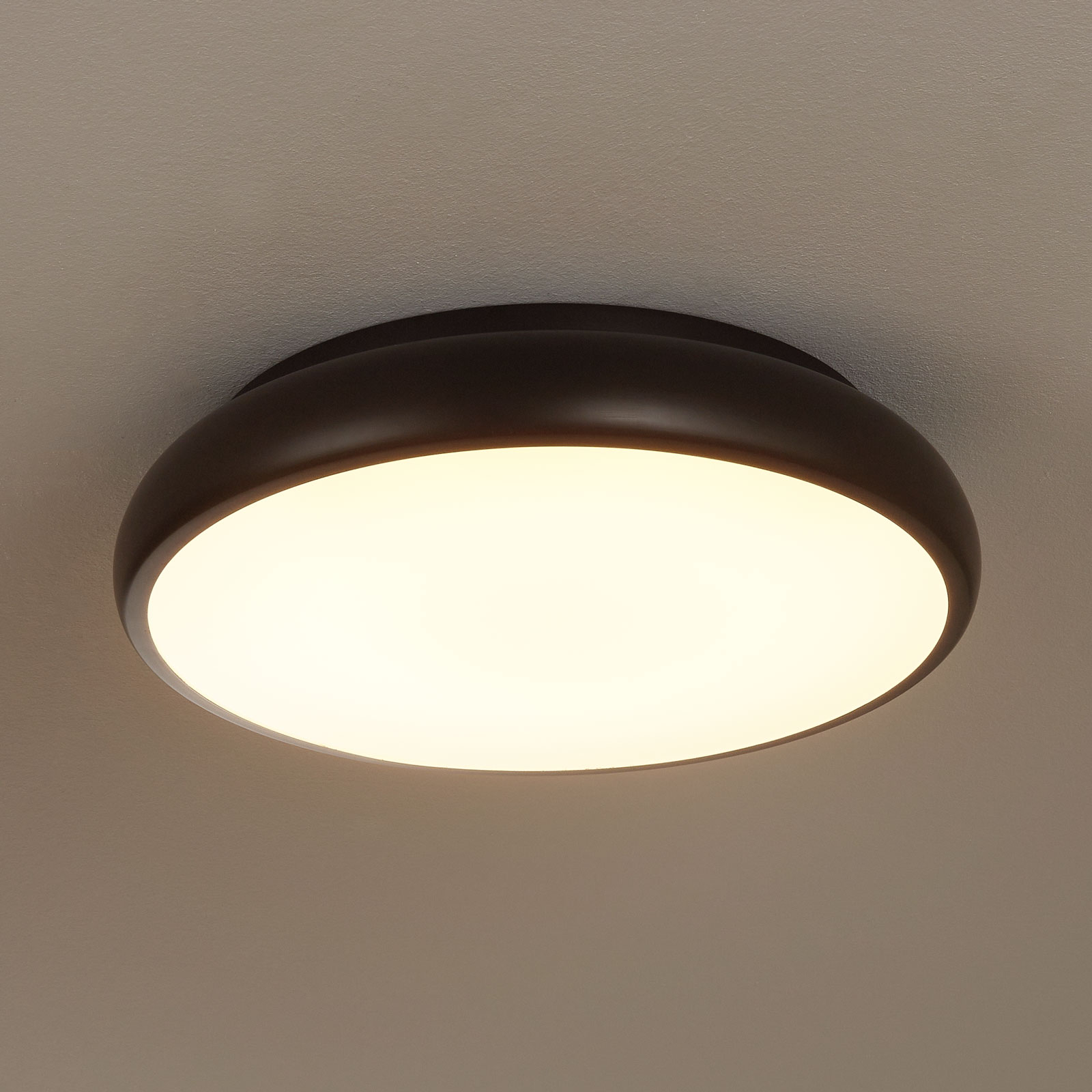 EGLO connect Riodeva-C LED-taklampe svart