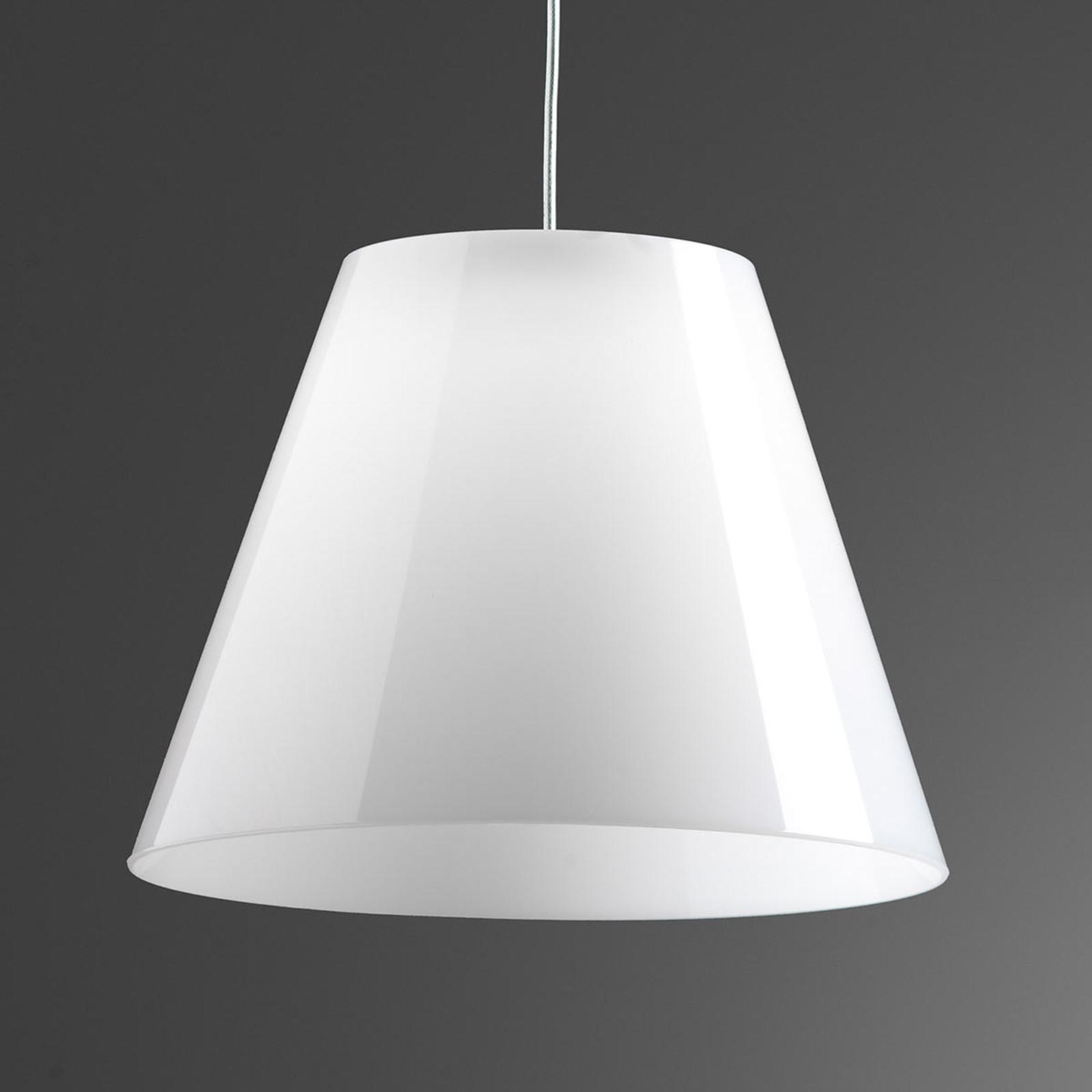Rotaliana Dina - weiße LED-Hängeleuchte