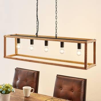 Lucande Sedrik hanglamp, 5-lamps