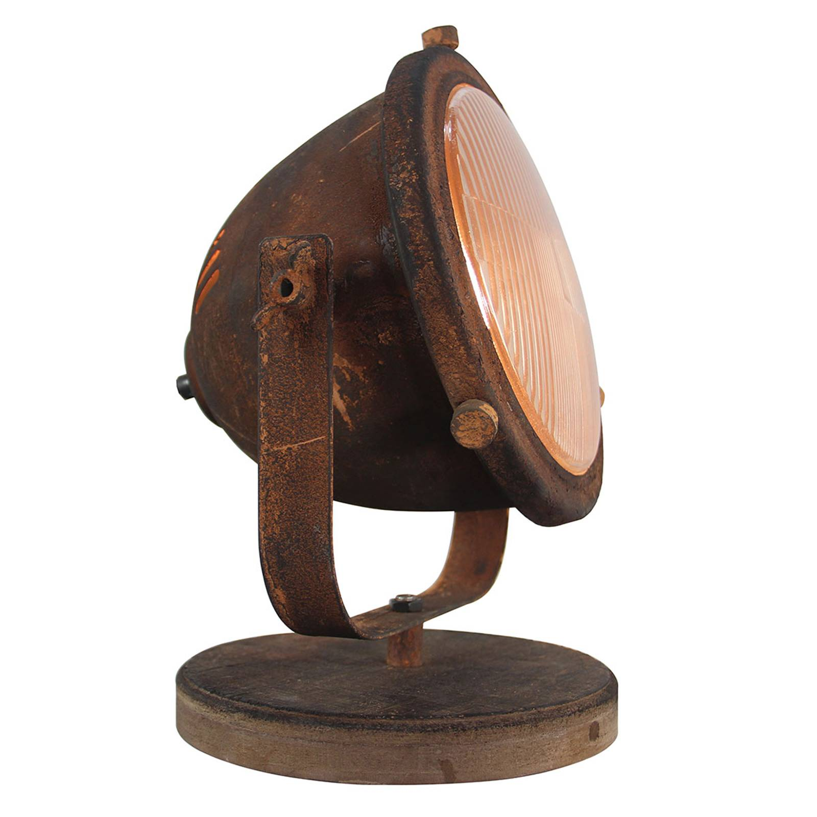 Tafellamp Woody, roest