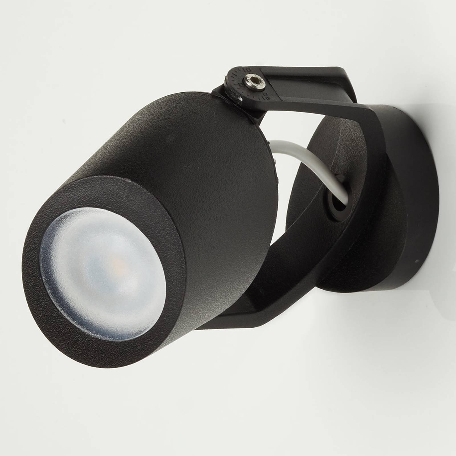 Anbdipot Minitommy 1 luce CCT nero/ghiacciato