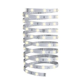 Varmhvid LED-Stripe YourLED Eco 5 m, hvid