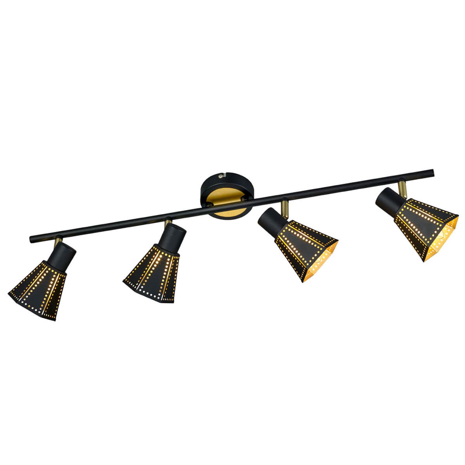 Trendige Deckenlampe Houston, 4-flammig