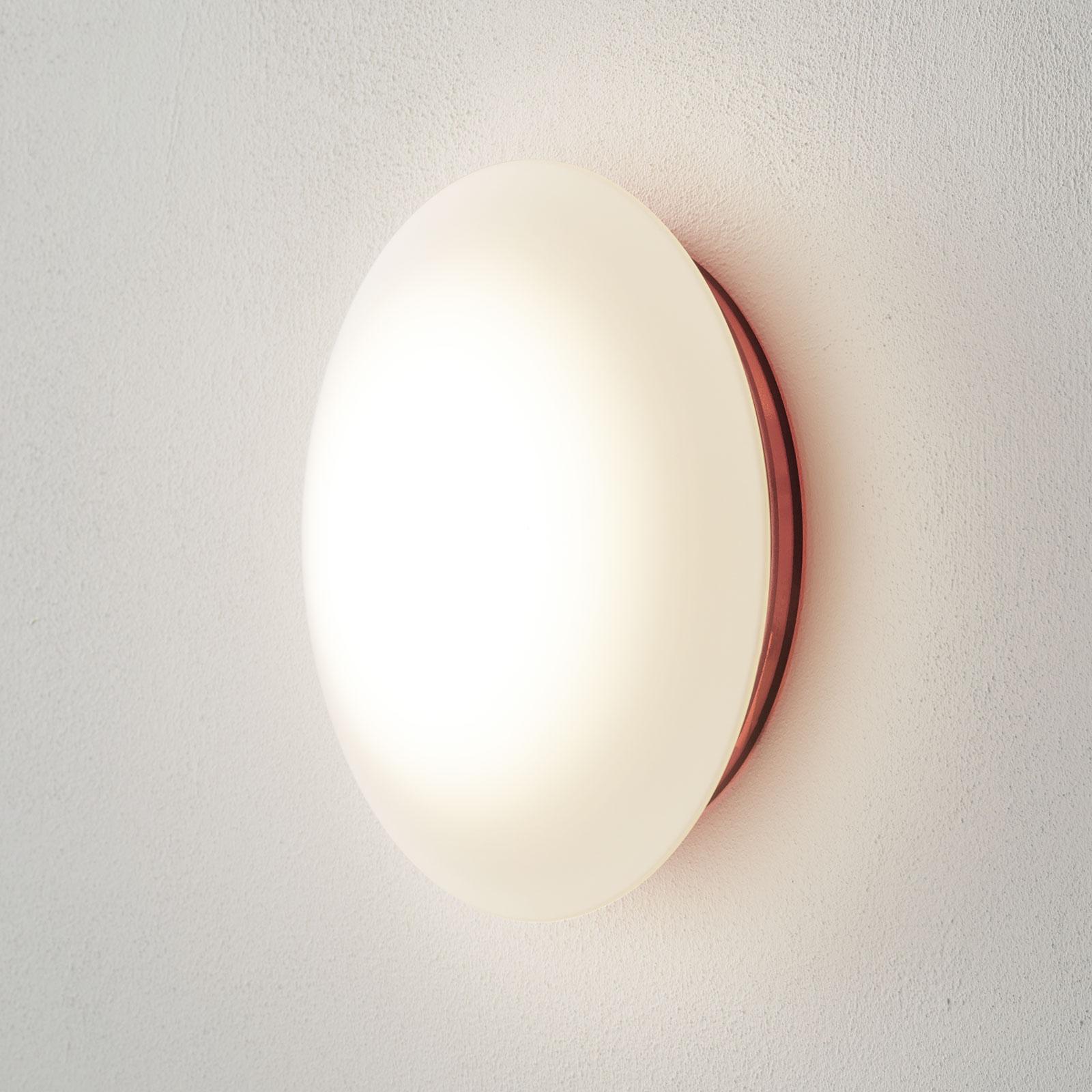 Basis in rood - LED wandlamp Bis IP44