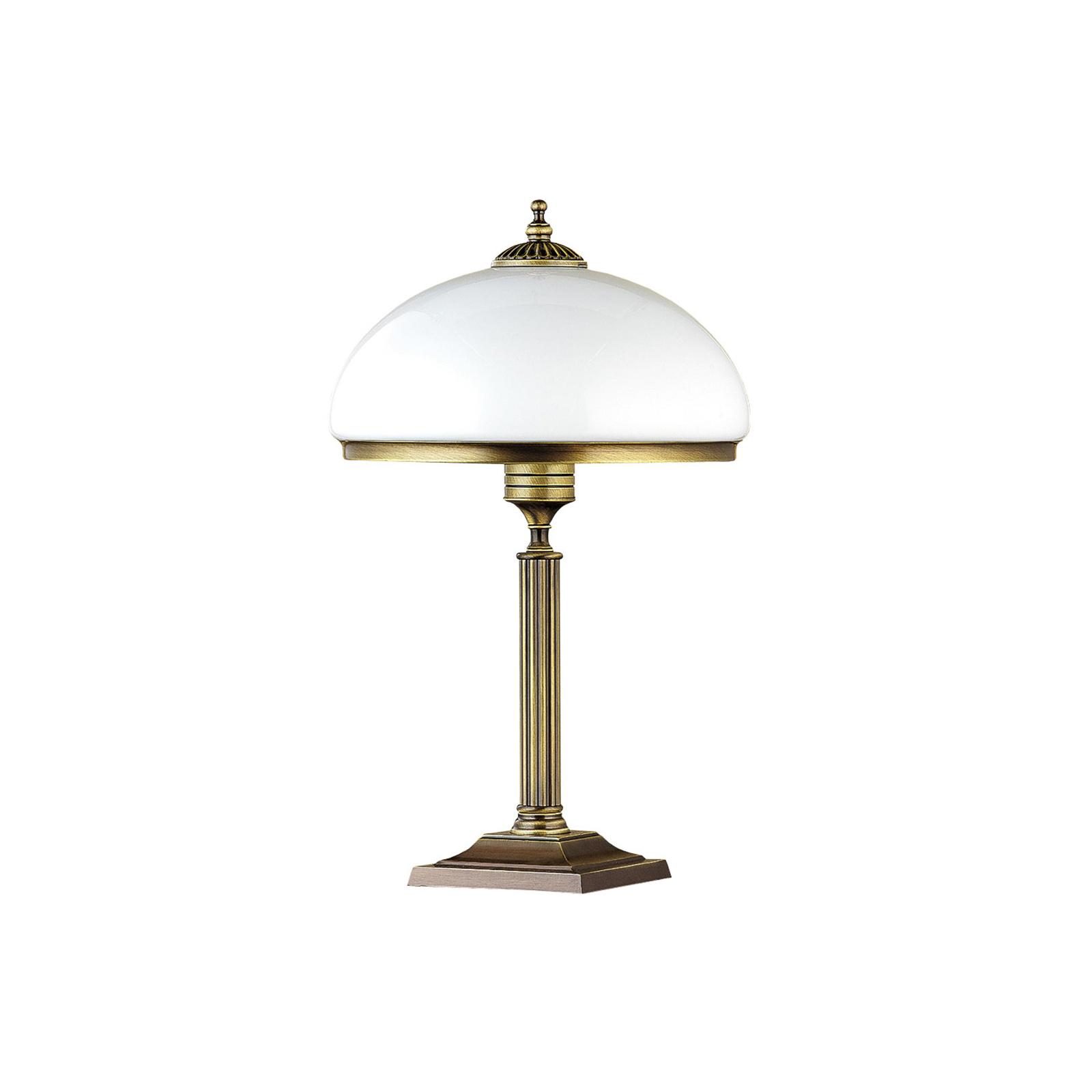Lampa stołowa Petro ze szklanym kloszem