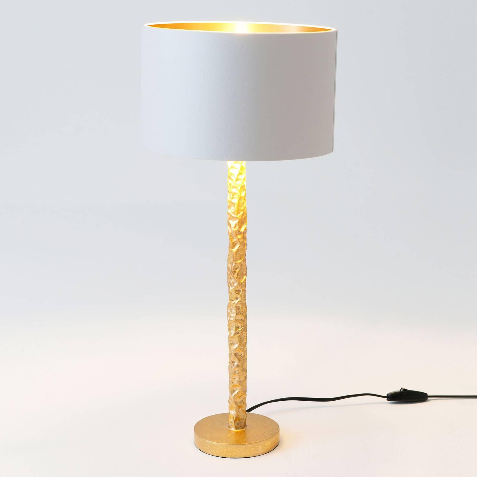Tafellamp Cancelliere Rotonda wit/goud 57 cm
