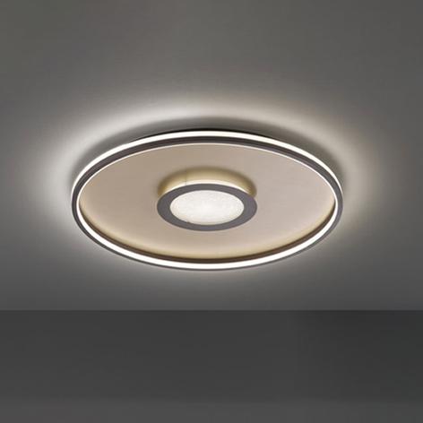 Bug-LED-kattovalaisin, pyöreä, ruoste